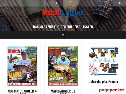 MatchAngler - Das Magazin fuer den modernen Friedfischangler