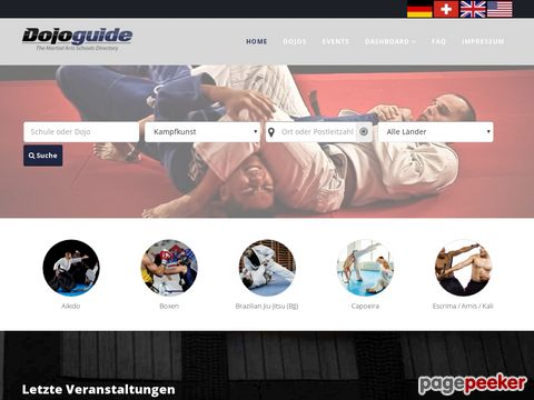 dojoguide.org - Dojoguide the martial arts directory
