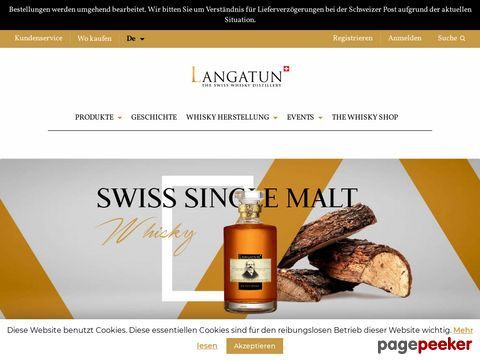 langatun.ch - Single Malt Whisky Shop - Langatun Shop