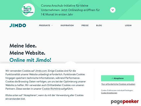 Eigene kostenlose Homepage erstellen! - Jimdo
