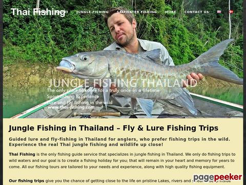 Fishing in Thailand – Fly Fishing and Jungle Fishing Trips