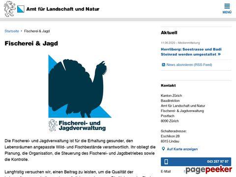 Fischerei- und Jagdverwaltung des Kantons Zürich