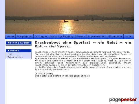 dragonboating.ch - Dragonboating.ch das Insider Portal