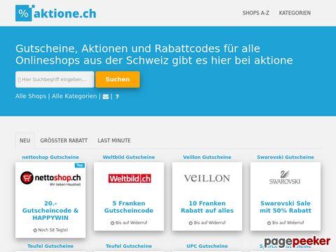 aktione.ch - Aktionen und Schnäppchen