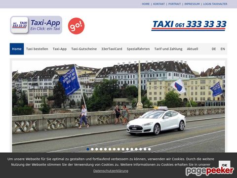 33er Taxi AG - Basel - Taxi - Bestellung (BASEL)