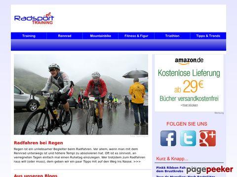 radsporttraining.de - Radsport aus Leidenschaft