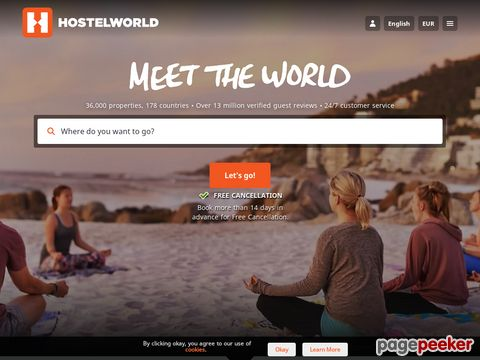 hostelworld.com - Hostels Worldwide - Online Hostel Bookings, Ratings and Reviews