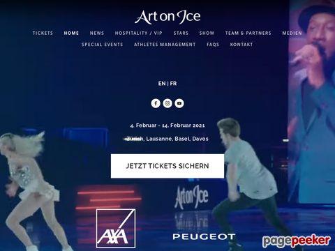 Art on Ice - Schweizer Eiskunstlaufgala im Zürcher Hallenstadion