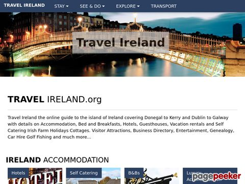 travelireland.org - Travel Ireland Guide SPECIAL OFFERS Hotels & Bed & Breakfast Accommodation Car Hire