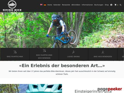 swiss-bike-tours.ch - Fahrtechnik-Kurse, Trainingsaufbau-Camps, Mountainbiketouren