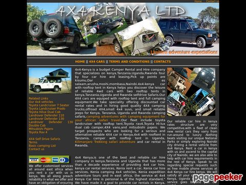 4x4 Kenya selfdrive, rooftop tent,kenya,Tanzania,Uganda,Rwanda