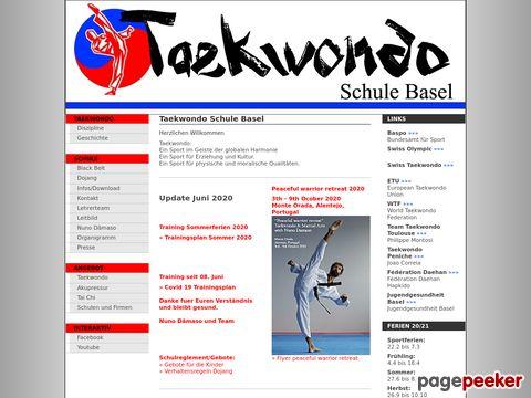 Kim Taekwondo Schulen Basel und Allschwil / Nuno Dâmaso