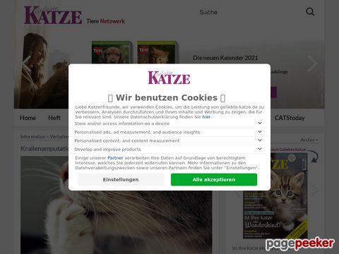 Geliebte Katze - Europas grösstes Katzenmagazin (Deutschland)