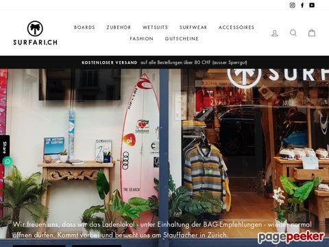 Surfari Surf-Shop