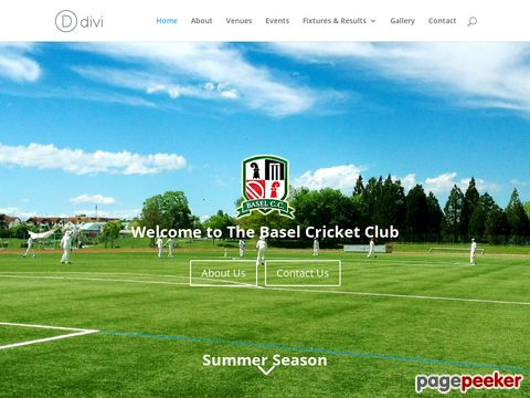 Basel Cricket Club Official Website (Basel - Switzerland)