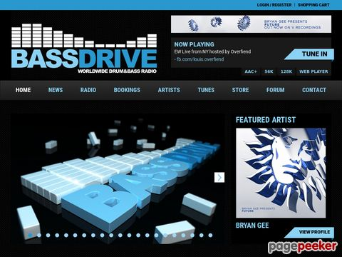 BassDrive.com - v2 - Drum & Bass Radio