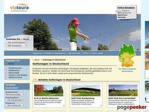 viatoura.de - Golfplatz-Guide - Die schönsten Golfanlagen in Deutschland
