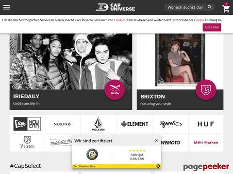 capuniverse.de - Caps Mützen Muetzen Kappen Online Shop