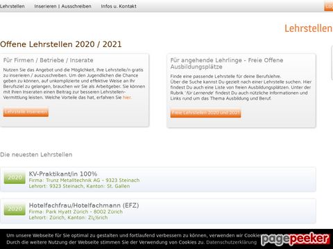 lehrstellen-angebot.ch - Schweizer Lehrstellen