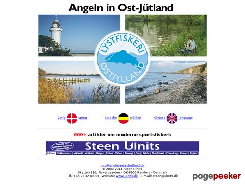 Angeln in Ost-Jütland (Dänemark)