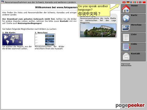 fotopanorama.ch - Bildergalerie mit Panorama- und Landschaftsfotos der Schweiz
