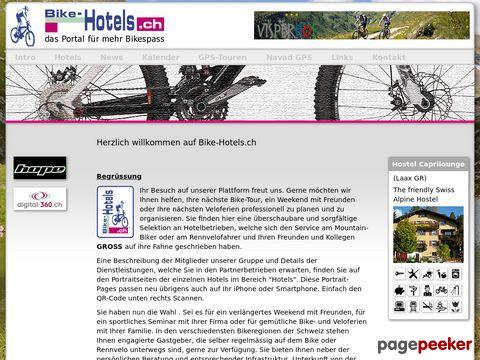 Bike-hotels.ch -