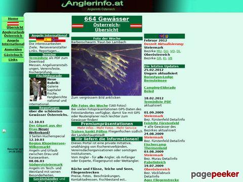 anglerinfo.at - Angelgewässer in Österreich