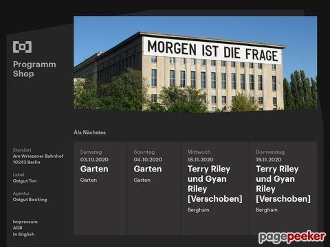 berghain panoramabar berlin