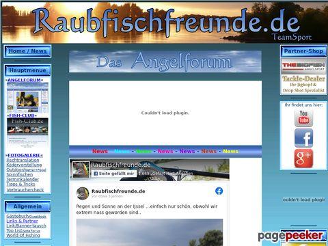 Raubfischfreunde.de - Angeln mit Raubfischfreunden
