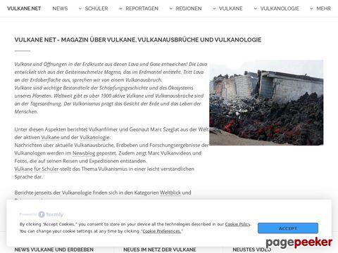 vulkane.net - Berichte aus der Welt der Vulkane
