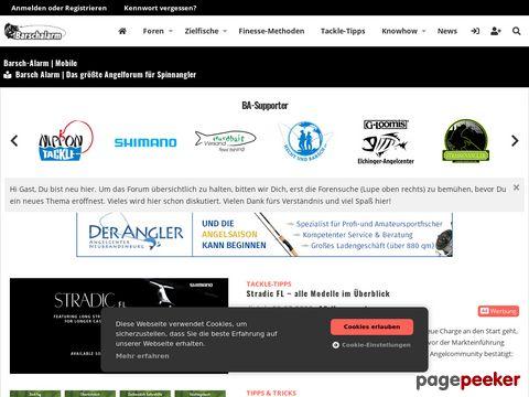 barsch-alarm.de - Online-Portal für Raubfischangler
