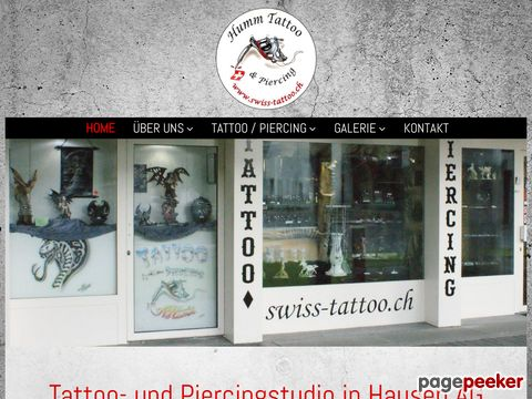 swiss-tattoo.ch - Tattoostudio und Piercingstudio in Aargau