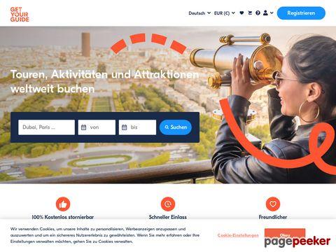 getyourguide.ch - Aktivitäten, Touren & Sehenswürdigkeiten online buchen