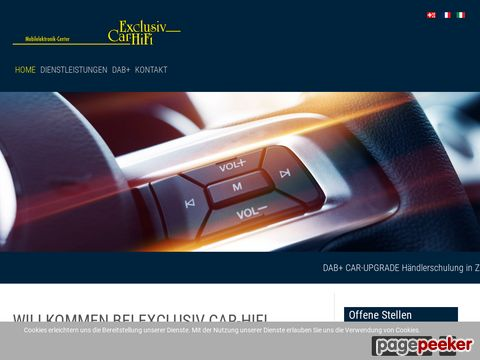 exclusivcarhifi.ch - Exclusiv Car-Hifi Tuning