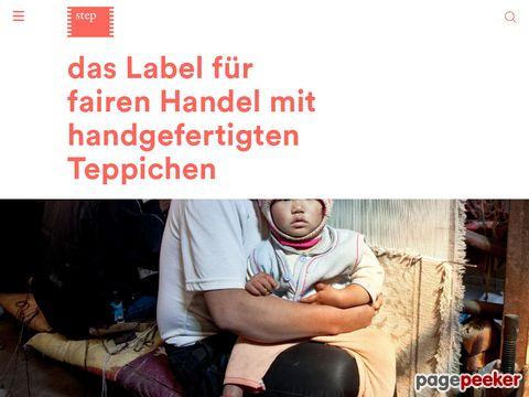 Label STEP - fair trade carpets