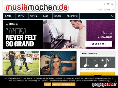 musikmachen.de - Die Musikercommunity