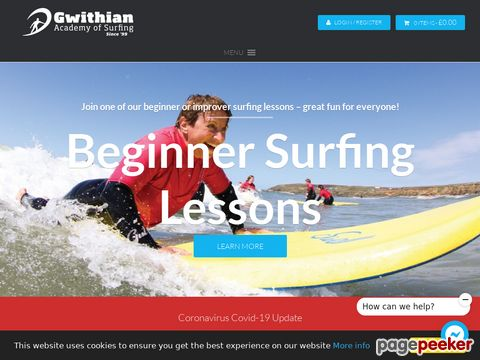 surfacademy.co.uk - Learn to Surf with The Gwithian Academy of Surfing