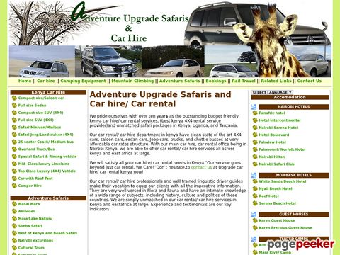 Family adventure safaris