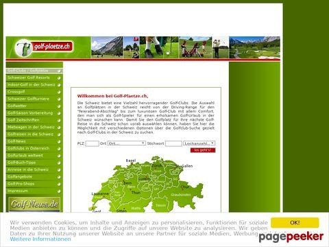 golf-plaetze.ch - Golfplätze - Golfplatz - Golfclub - Schweiz