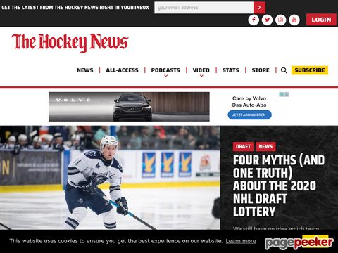 The Hockey News: Insight on the NHL and the world of hockey