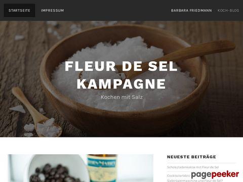 fleur-de-sel-kampagne.de - Fleur de Sel Meersalz