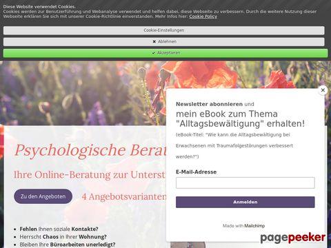 Claudia Jost Lebenspraktische Online-Beratung