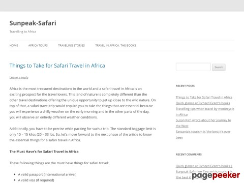 Kenya safari | Kenya holiday safaris | African safari Holidays | 2010 Safaris | Kenya Homestays Holiday | Kenya Camping