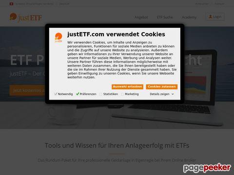 justETF.ch - ETFs einfach finden und schnell vergleichen