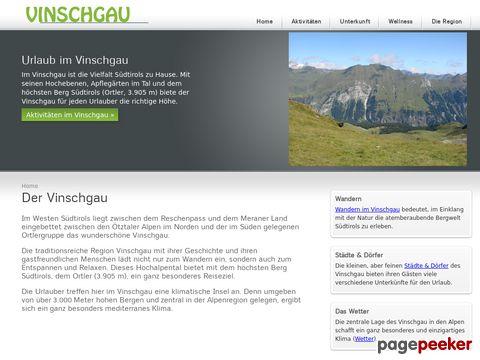 Wandern in Vinschgau