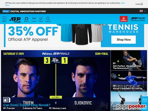 atpworldtour.com - ATP World Tour - Tennis