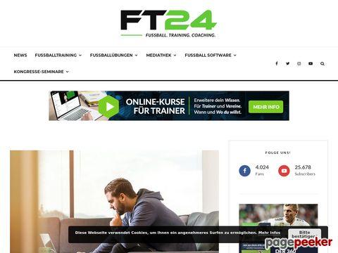 Portal für Trainer und Spieler