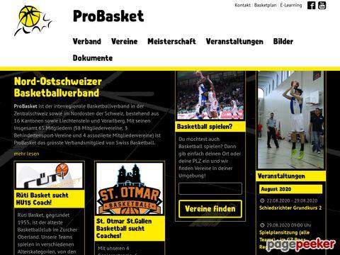probasket - Nord-Ostschweizer Basketballverband