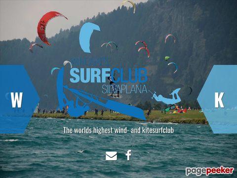 Surfclub Silvaplana - Windsurfing im Engadin