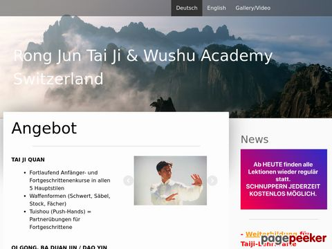 RONG JUN TAI  JI & WUSHU ACADEMY SWITZERLAND